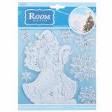 Стикер POX6639 Дед Мороз волшебный (Китай)