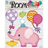 Стикер PLA 3004 Розовый слоненок Китай
