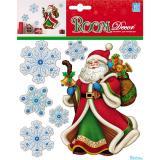 Стикер PLX1503 Дед мороз - мини