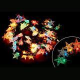 Гирлянда  Звёзды Star-100-5-MC (100 ламп, длина 5м, 8режимов, многоцвет)