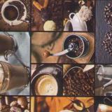 Клеенка нетканая основа 1,4*20м кофе Пикассо (1/1)