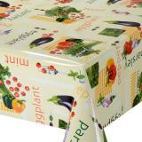 Клеенка ПВХ 1,4*20м овощи рис. 055 JAKLIN Dekorelle (1/1)
