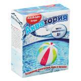Средство для очистки воды в бассейнах Акватория AQUA-light- longo, 500 г (4*125гр, 1пакет~20куб.м
