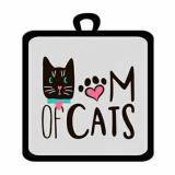 Прихватка кухонная из полиэстера 17*17 см CATS (1/288)