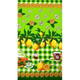 Полотенце вафельное традиции текстиля  38*73 ассорти (10/10)