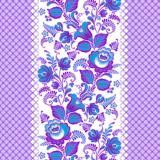 Полотно  вафельное фиолетовое 40см*75 м плотность 150гр  (1/1)