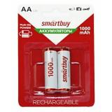 Аккумулятор NiMh Smartbuy AA/2BL 1000 mAh (2/24)