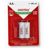Аккумулятор NiMh Smartbuy AA/2BL 2300 mAh (2/24)