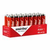 Батарейка алкалиновая  LR03/4S Smartbuy (24/480)