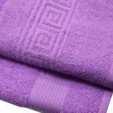 Полотенце махровое гладкокрашеное пурпурное 35*60 (2/200)