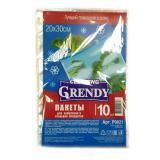 Пакеты д/заморозки и хранения 10 шт. 20*30 Grendy (1/60)