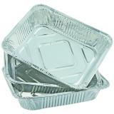 Набор алюминиевый форм для запекания прямоугольный 3 пр 0,68 л ЕвроХаус (1/50)