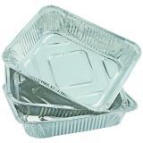 Набор алюминиевый форм для запекания прямоугольный 6 пр 0,13 л ЕвроХаус (1/50)