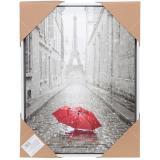 Картина 30*40 см Эйфелева башня красный зонт I.K (1/1)