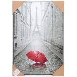 Картина 40*60 см Эйфелева башня красный зонт I.K (1/1)