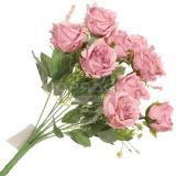 Букет искусственных декоративных роз 38 см пыльная роза I.K (1/1)