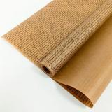 Бумага крафтовая 72 см*10 м вержированная рукопись черная на коричневом (1/22)