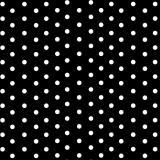 Бумага крафтовая 50 см*10 м горох белый на черном (1/1)