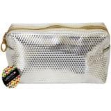 Косметичка-сумка 18*10*7,5 см серебро куб КЛАССИКА Lady Mix (1/1)