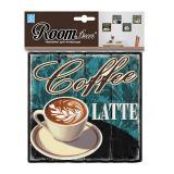 Стикер PSA 8725 Латте - кофе