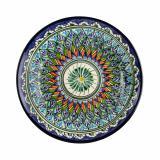 Тарелка керамическая плоская 22 см синяя РИШТАН (1/1)