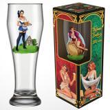 Бокал стеклянный для пива 500 мл PIN-UP (1/12 )