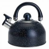 Чайник из нерж стали 2,5 л со свистком индукционное капсул.дно Webber (1/12)