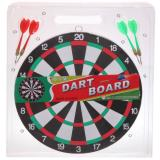 Набор для игры в дартс D-1201W мишень 29 см 4 дротика (1/1)