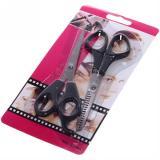 Набор ножниц для стрижки волос 2шт прямые и филировочные 16,5см Barber (1/1)