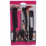 Набор для стрижки волос ножницы прямые расческа 2шт станок для бритья Barber (1/1)