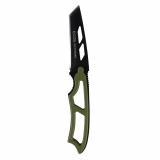Нож туристический стальной 19,5 см со свистком зеленый EX-SW-B01G Ecos (1/10)