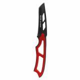 Нож туристический стальной 19,5 см со свистком красный EX-SW-B01R Ecos (1/5)