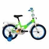 """Велосипед детский 16"""" 1 ск ярко-зеленый/синий Altair (1/1)"""