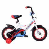 """Велосипед детский 18"""" красный белый синий BMX Star (1/1)"""