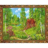 Картина репродукция 30*40 см Дом в лесу Постер-Лайн (1/1)