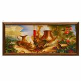 Картина репродукция 20*50 см Золотой натюрморт Постер-Лайн (1/1)