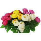 Букет искусственных декоративных роз пионовидных 28см NataM (1/1)