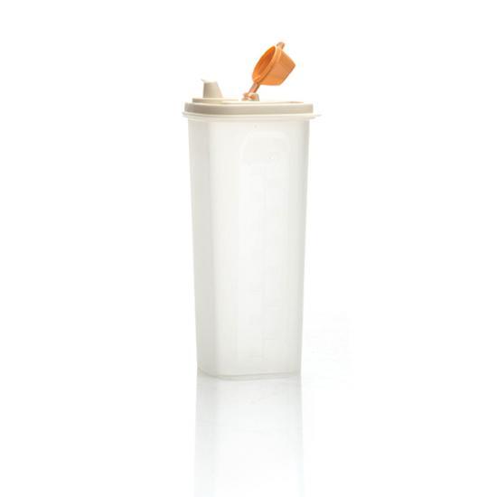 Банка пластиковая для масла 0,75 л Полимербыт (1/16) - 1