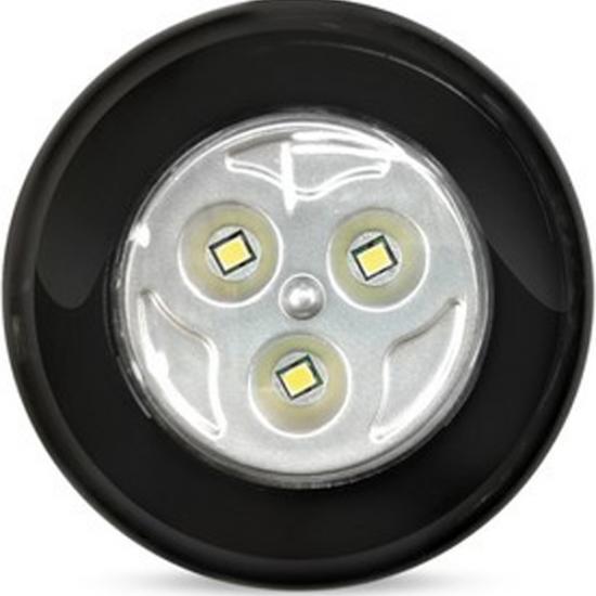 Фонарь светодиодный PUSH LIGHT 3 Вт 3AAA черный Smartbuy (1/1) - 1