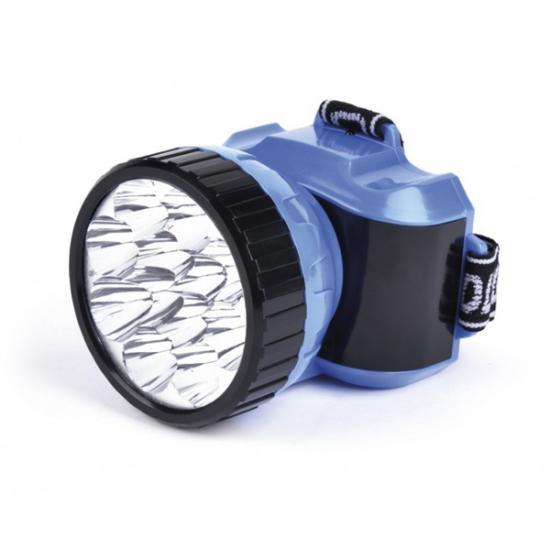 Фонарь налобный аккумуляторный 12 LED синий Smartbuy (1/1) - 1